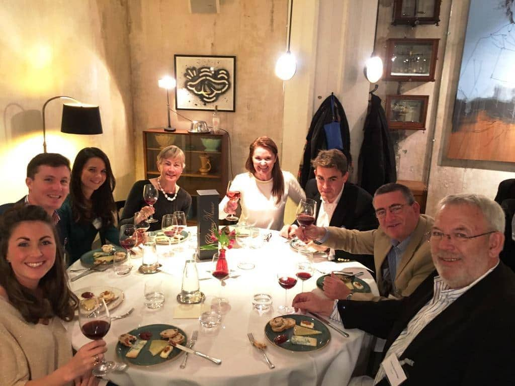 Fantastic Chateau Musar Dinner